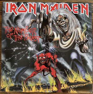 Chuck saw Iron Maiden several times in concert!